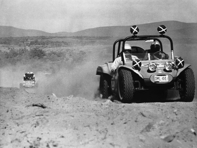 Racing back in the days when photographers used black-and-white film