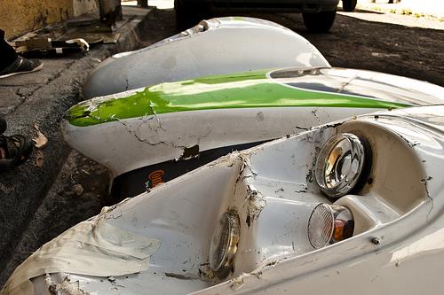 Racing Green Endurance - Accident