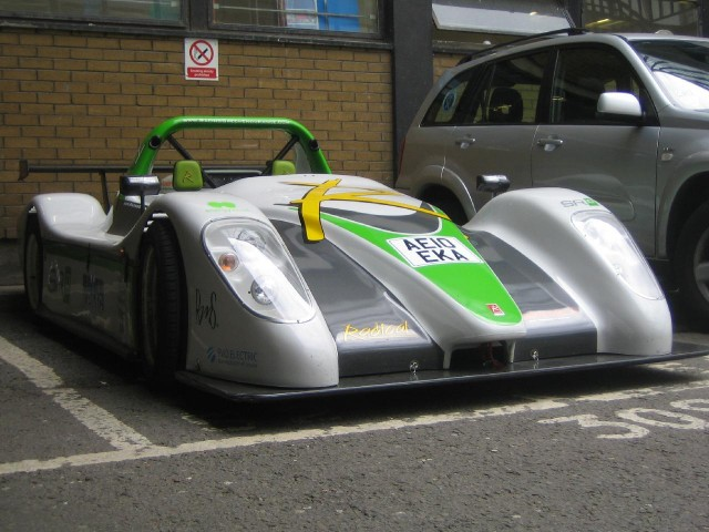 Racing Green Endurance electric car, Imperial College, London, June 2010