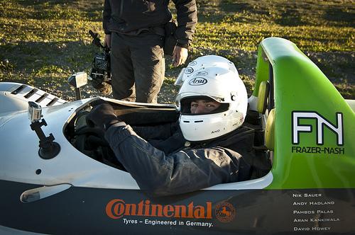 Racing Green Endurance en-route