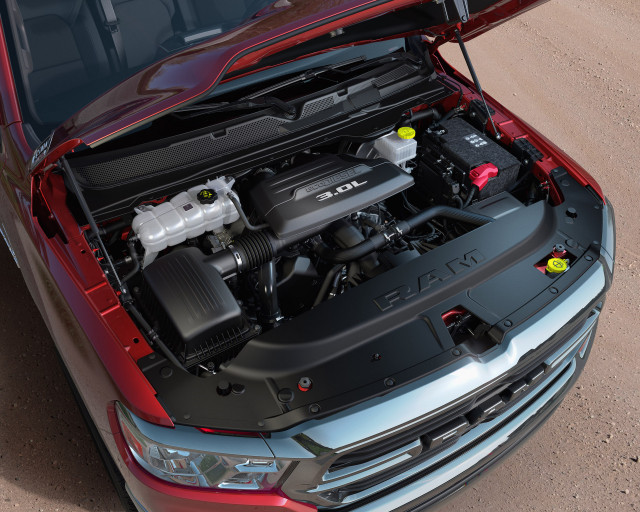 Ram prices Ecodiesel engine option for 1500 pickup lineup