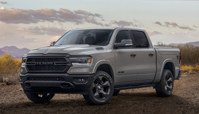 "2020 Ram 1500 ""Built To Serve Edition"" pickup trucks honor US military"