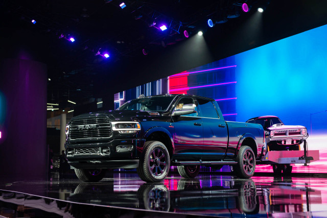 2019 Ram Heavy Duty pickup truck shows in Detroit: Big bruiser wears a starched shirt