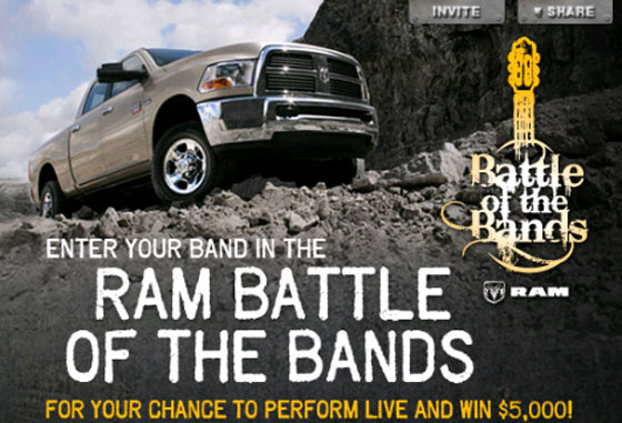 Ram Battle of the Bands