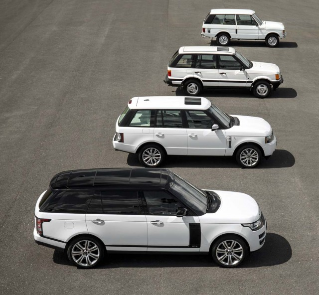 Range Rover Celebrates 45th Birthday