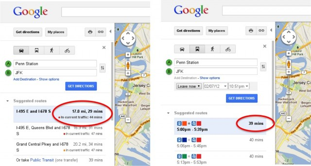 Google Maps Now Offers Real-Time Traffic Data