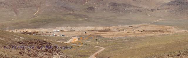 Recent earthmoving at USA Parkway Business Park, Reno--for Tesla gigafactory? [photo: Bob Tregilus]