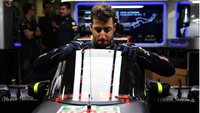 Red Bull Racing Aeroscreen cockpit protection