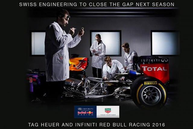 Red Bull Racing forms partnership with Tag Heuer