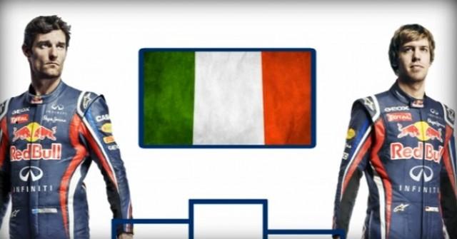 Red Bull Racing preps for the 2011 Italian GP