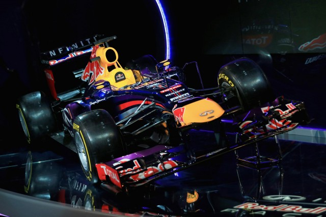 Red Bull Racing RB9 2013 Formula One race car