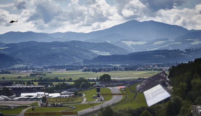 Red Bull Ring, home of the Formula 1 Austrian Grand Prix