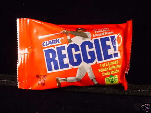 Reggie Jackson candy bar