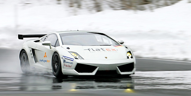Reiter Engineering shows off new GT2-class Lamborghini Gallardo race car