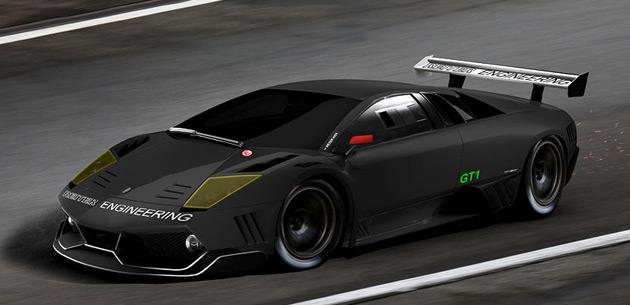 Reiter's Lamborghini Murcielago fits the FIA rules for 2010.
