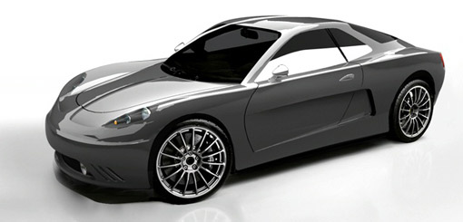 Renault Alpine Interlagos design study