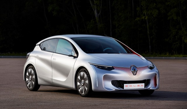 Renault Eolab Concept for future plug-in hybrid vehicle, 2014 Paris Motor Show