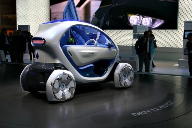 Renault EV Concepts at the 2009 Frankfurt auto show