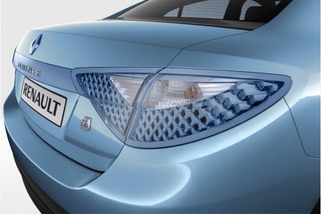 Renault Fluence ZE production electric sedan