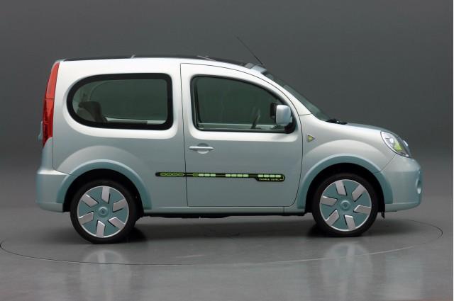Renault Unveils Kangoo Be Bop Ze In Paris