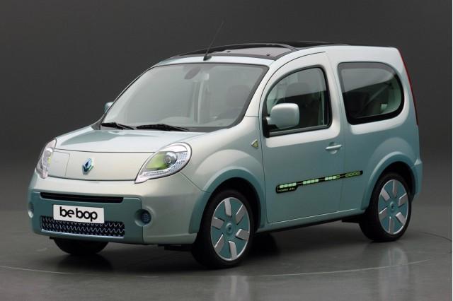 Renault Kangoo be bop ZE electric vehicle