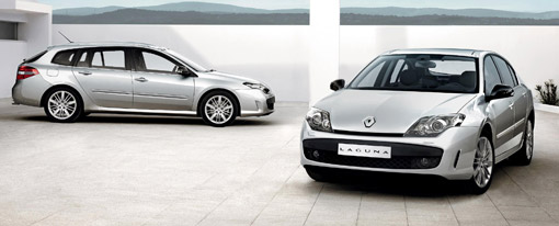 Renault Laguna GT with 4WS Active Drive chassis