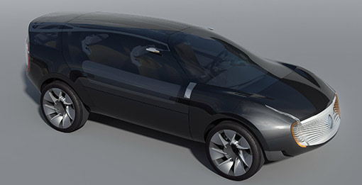 Renault Ondelios Concept Combines Luxury With Eco Awareness