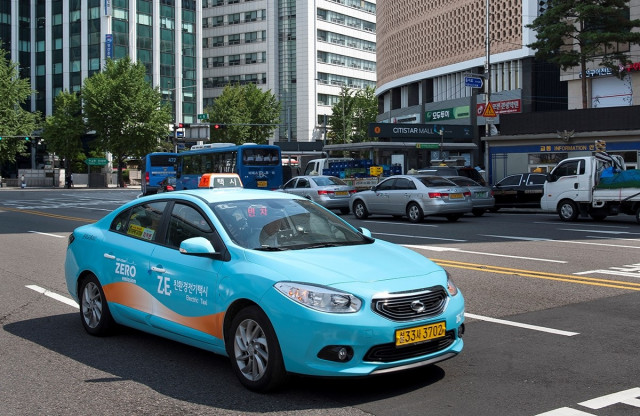 Renault Samsung SM3 ZE electric car, sold in South Korea
