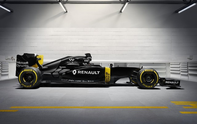 Renault Sport F1 RS16 2016 Formula One car