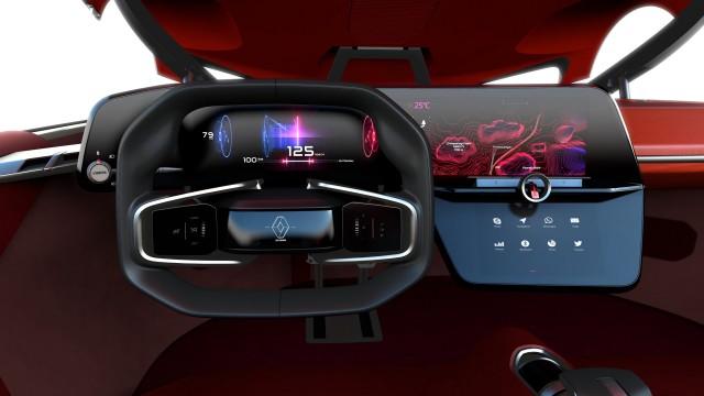 Renault Trezor Concept In Paris Electric Drive New Design Language