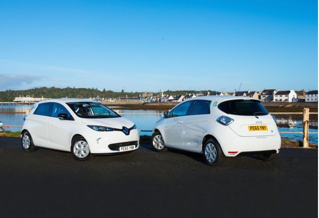 Renault Zoe Electric Car Delivered After Nissan
