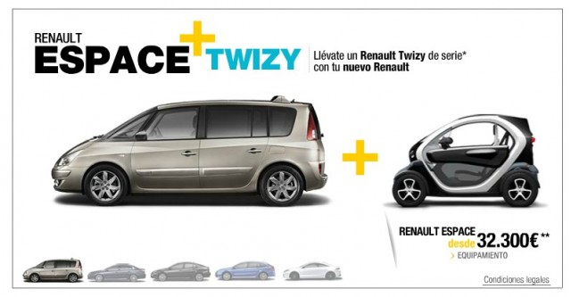 Renault S Free Twizy Promotion