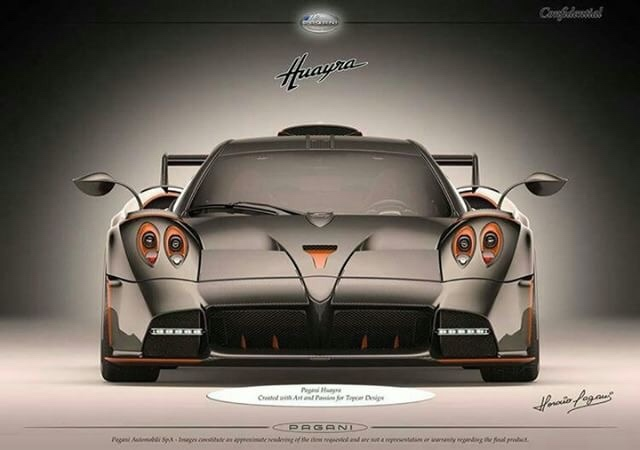 Pagani Huayra Dragon is a one-off supercar for TopCar
