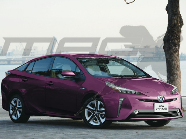 Rendering Of Possible Design Update For 2019 Toyota Prius Liftback Source Cnsor