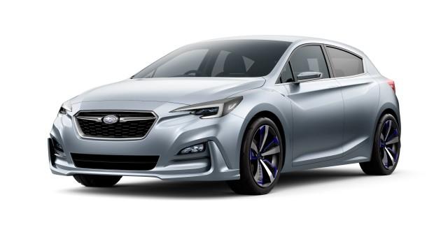 Rendering of Subaru Impreza 5-Door Concept, 2015 Tokyo Motor Show