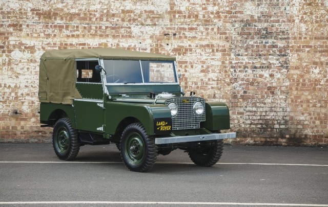 Restored Land Rover Series 1