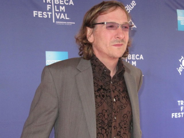 'Revenge of the Electric Car' premiere: director Chris Paine on the red carpet