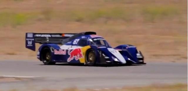 Rhys Millen testing the Hyundai PM580 for Pikes Peak 2011