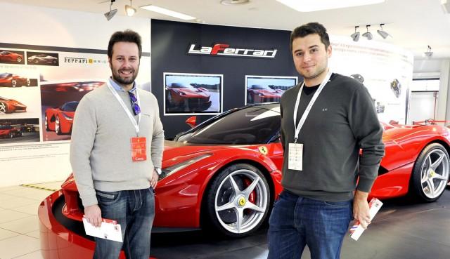 Riccardo Verdelli (right) and Gian Maria Lamberti