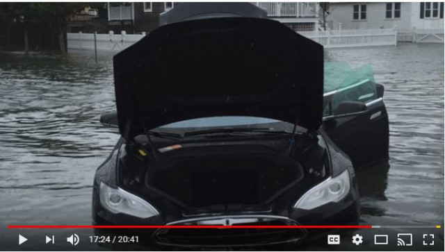 Rich Rebuilds flooded Tesla Model S, via YouTube