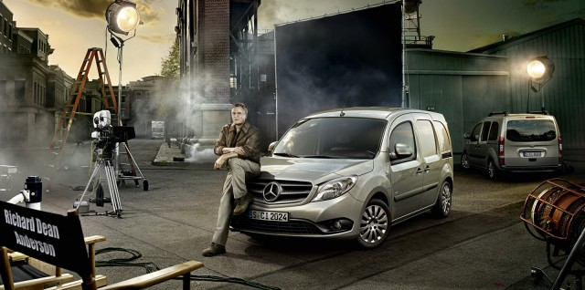 Richard Dean Anderson returns to his most famous role for Mercedes-Benz Citan van promotion