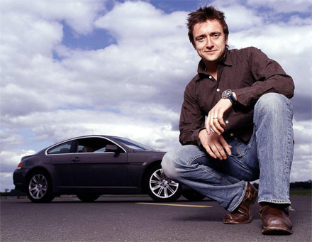 Richard Hammond slowly improving