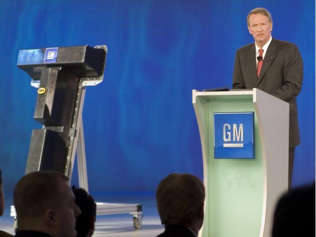 Rick Wagoner Announces GM Battery Production