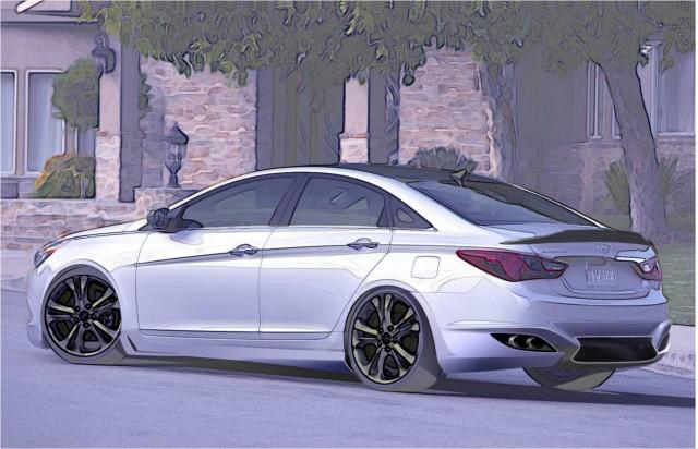 RIDES Hyundai Sonata 2.0T