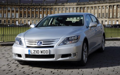 Right-hand drive 2011 Lexus LS 600h