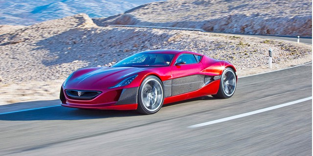 Rimac Concept One electric supercar
