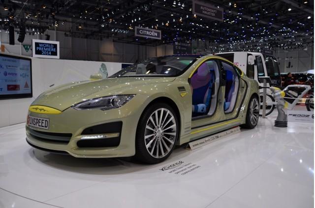 Rinspeed XchangE concept - 2014 Geneva Motor Show live photos
