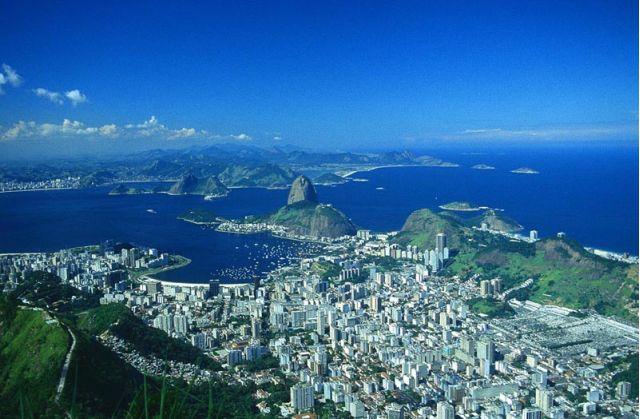 Rio de Janeiro scene