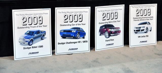 Rocky Mountain Automotive Press Awards at the 2009 Denver Auto Show