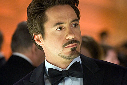 Robert Downey Jr. as Tony Stark in Iron Man